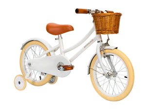 The Classic Pedal Bike- White