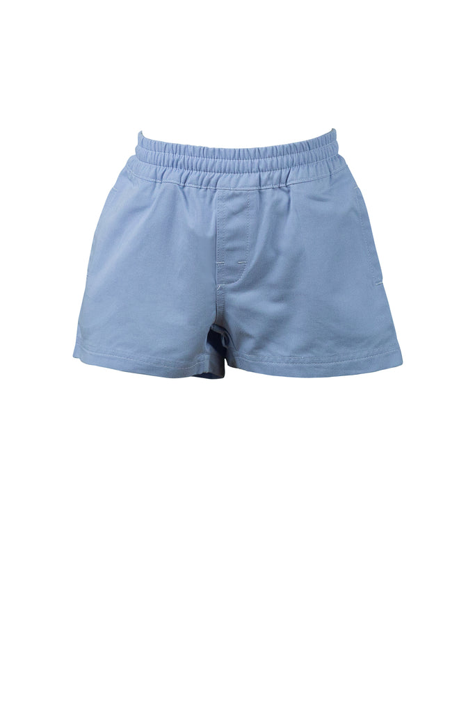 The Proper Peony Spencer Shorts- Powder Blue