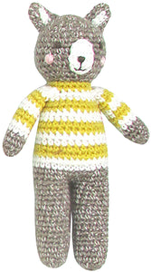 Crochet Bear Rattle Doll