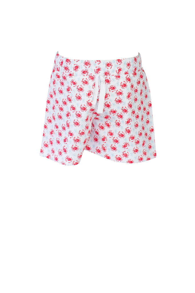 The Proper Peony Crab Shorts- Little Birdies