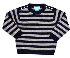 Cashmere Striped Sweater