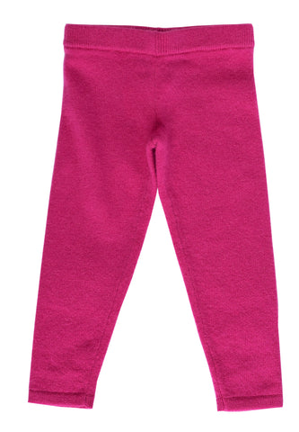 Fuschia Cashmere Leggings