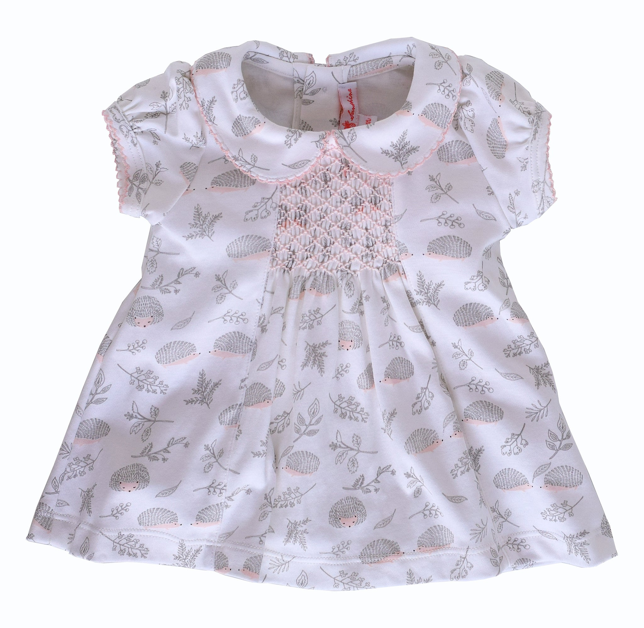 Cameryn Hedgehog Dress with Ruffle Bloomers