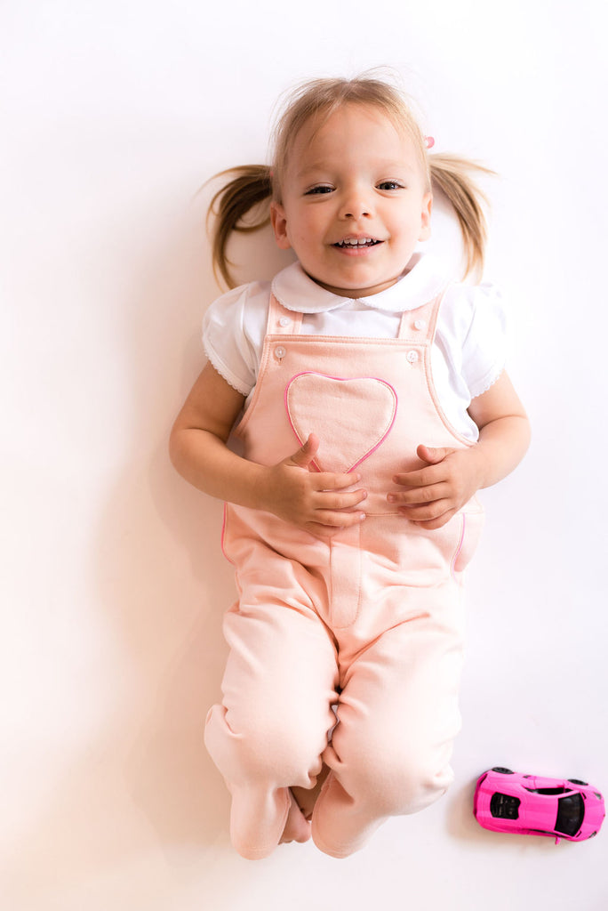 White Puff Sleeve Onesie