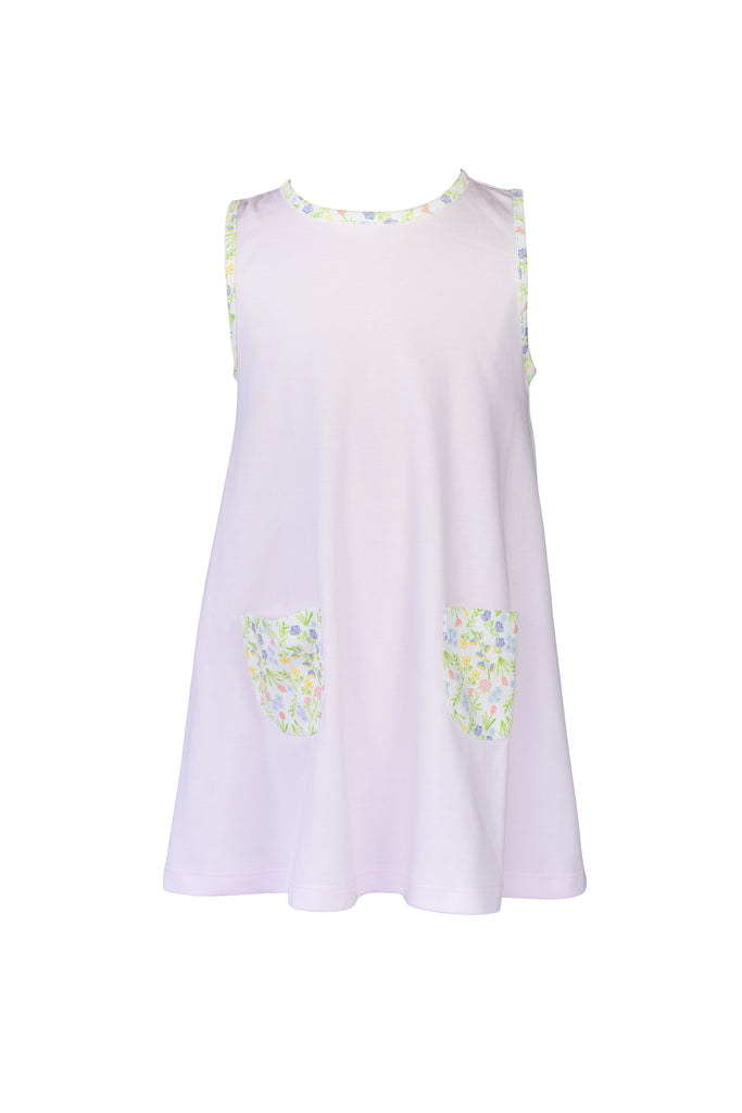 The Proper Peony Garden Floral A Line Dress