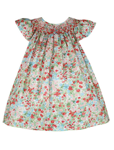 Isabel Garreton Floral Bishop Dress