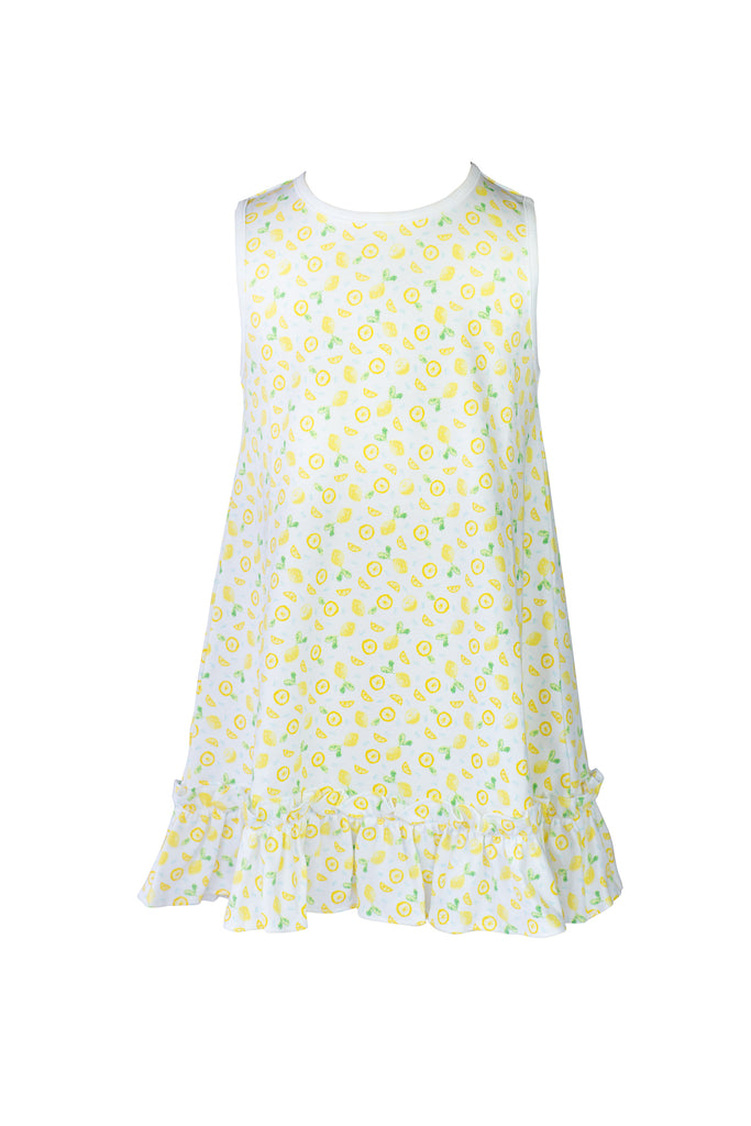 The Proper Peony Lemon Dress- Little Birdies