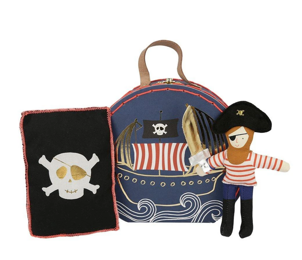 Meri Meri Mini Pirate Suitcase- Little Birdies