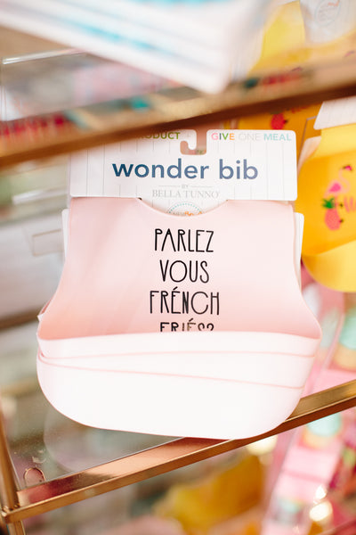 French Fries Wonder Bib