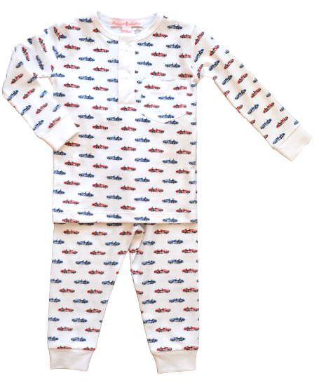 Red Cobra Car Pajama Set