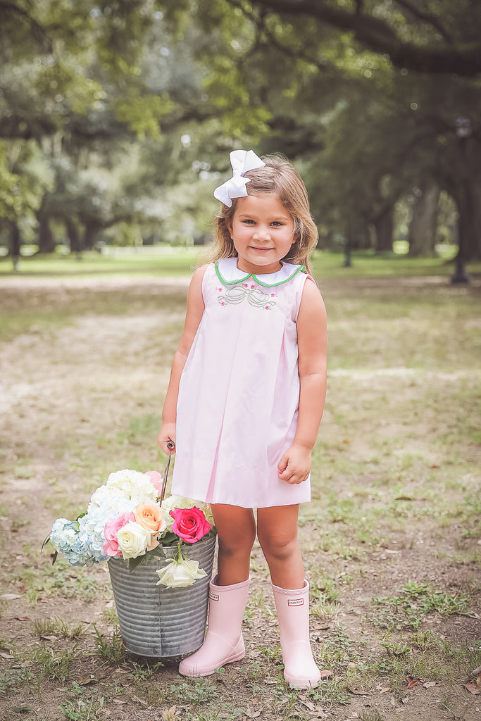 The Proper Peony Palmer Pink Dress - Little Birdies