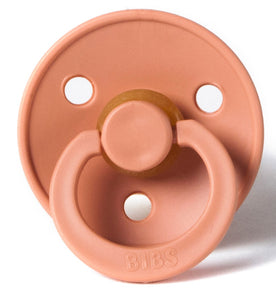 Bibs baby pacifier in Peach
