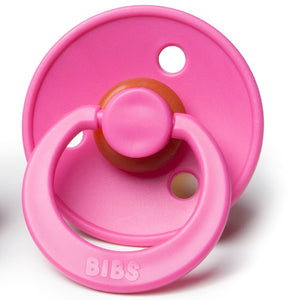 bibs baby pacifier in raspberry color
