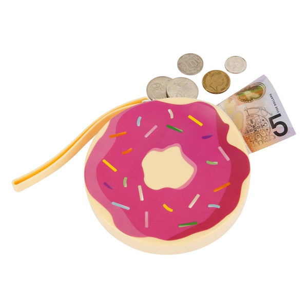 Donut Silicone Coin Purse