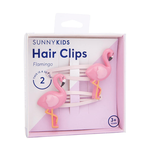 Flamingo Hair Clips