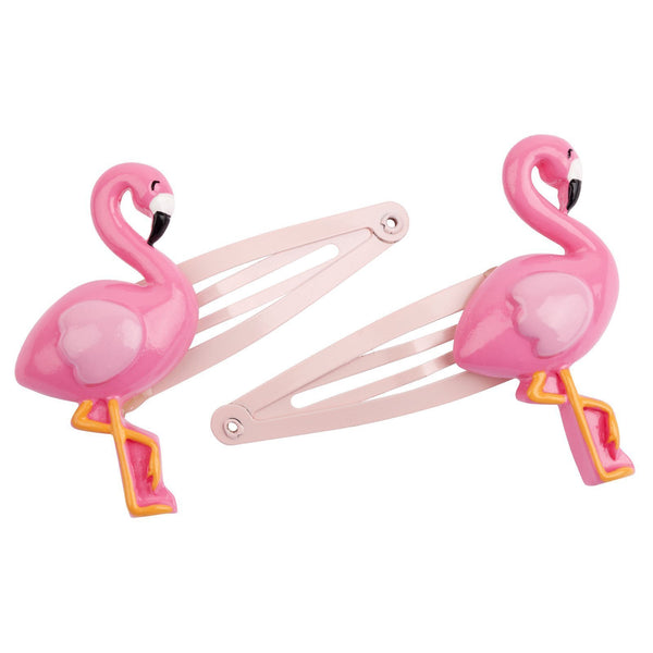 sunnylife australia flamingo hair clips