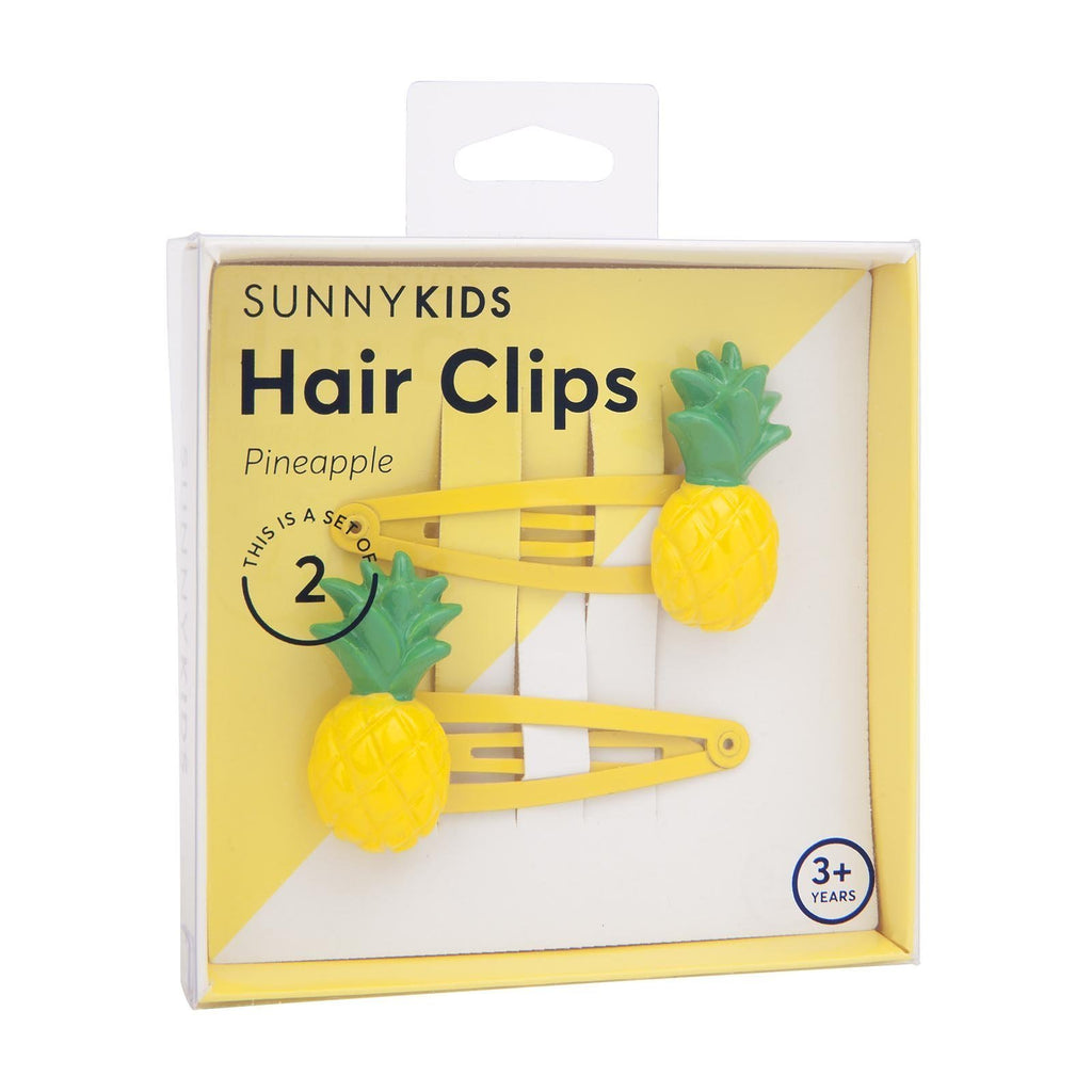 Pineapple Hair Clips