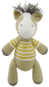 Albetta uk crochet horse rattle doll