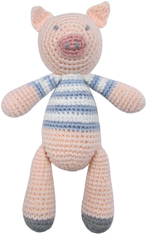 albetta uk crochet pig rattle