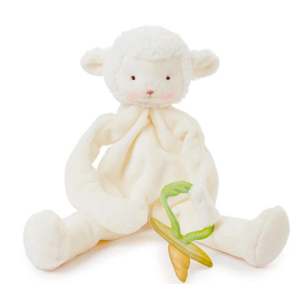 bunnies by the bay kiddo lamb pacifier lovie