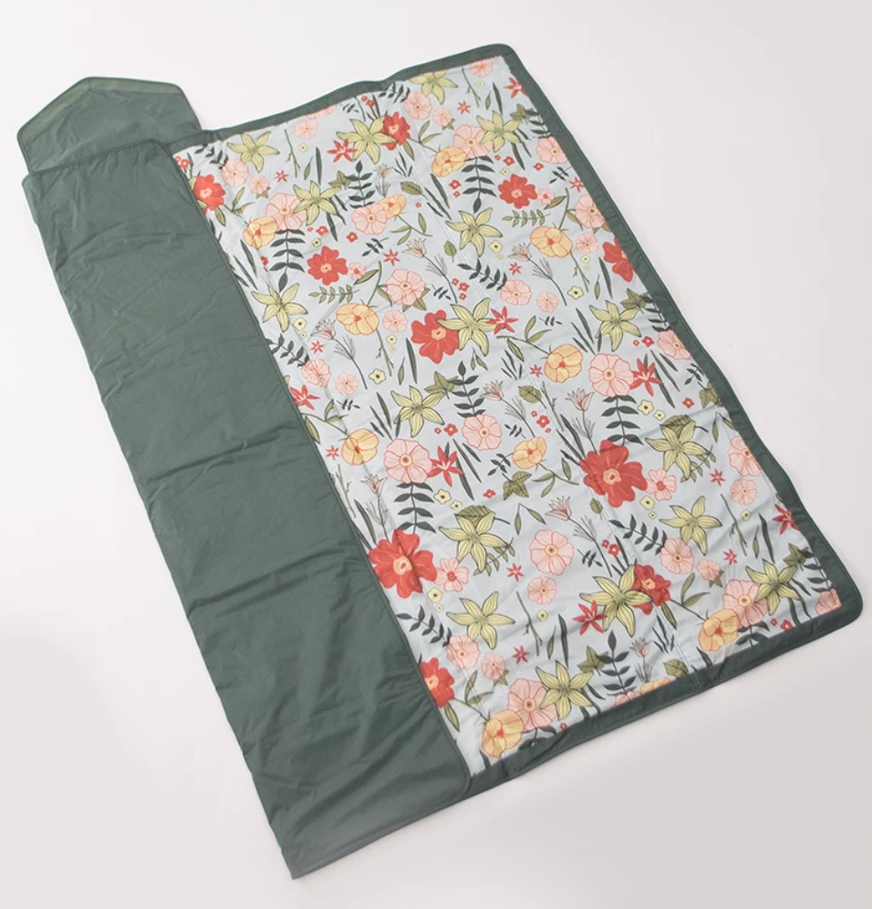 Outdoor Blanket- Primrose Patch 5x5