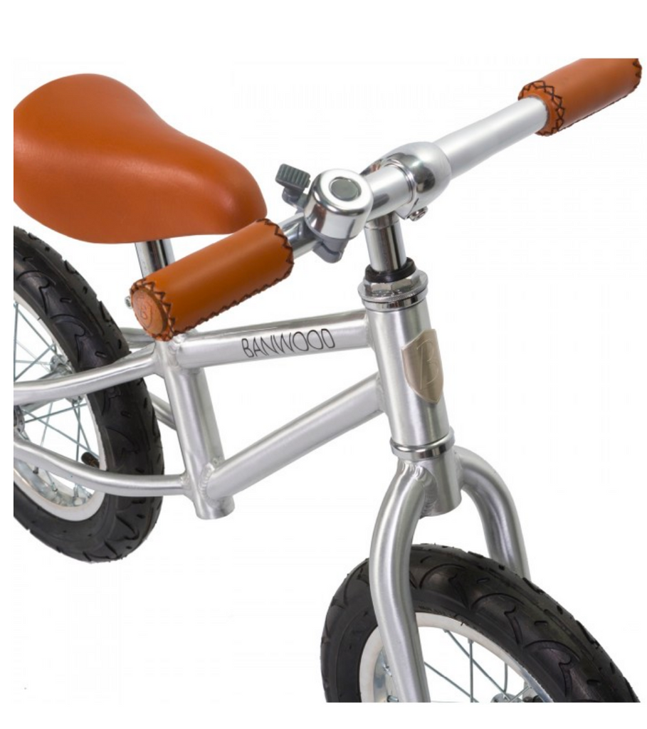 FIRST GO!  Balance Bike- Chrome