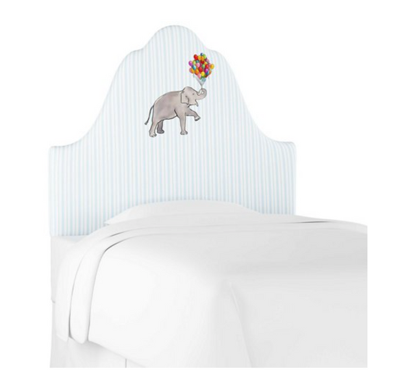 Elephant Stripe Headboard