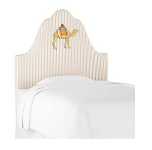 Camel Stripe Headboard