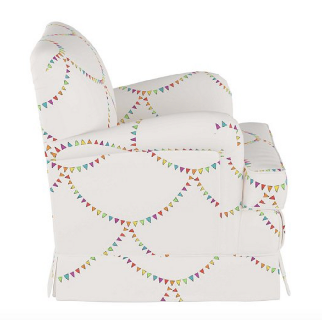 Bunting Scallop Kids' Chair