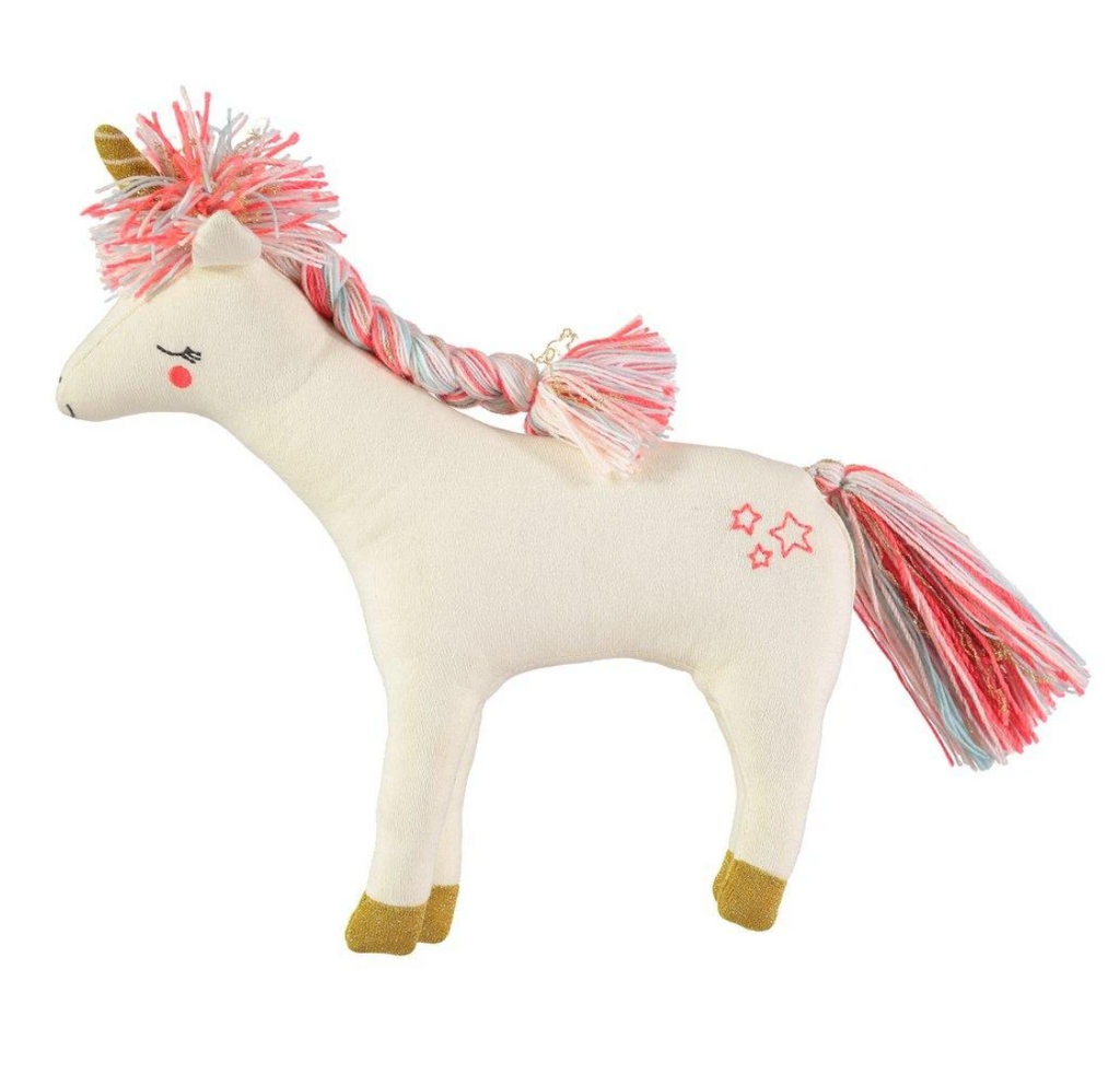 Meri Meri Bella Unicorn STuffed animal toy