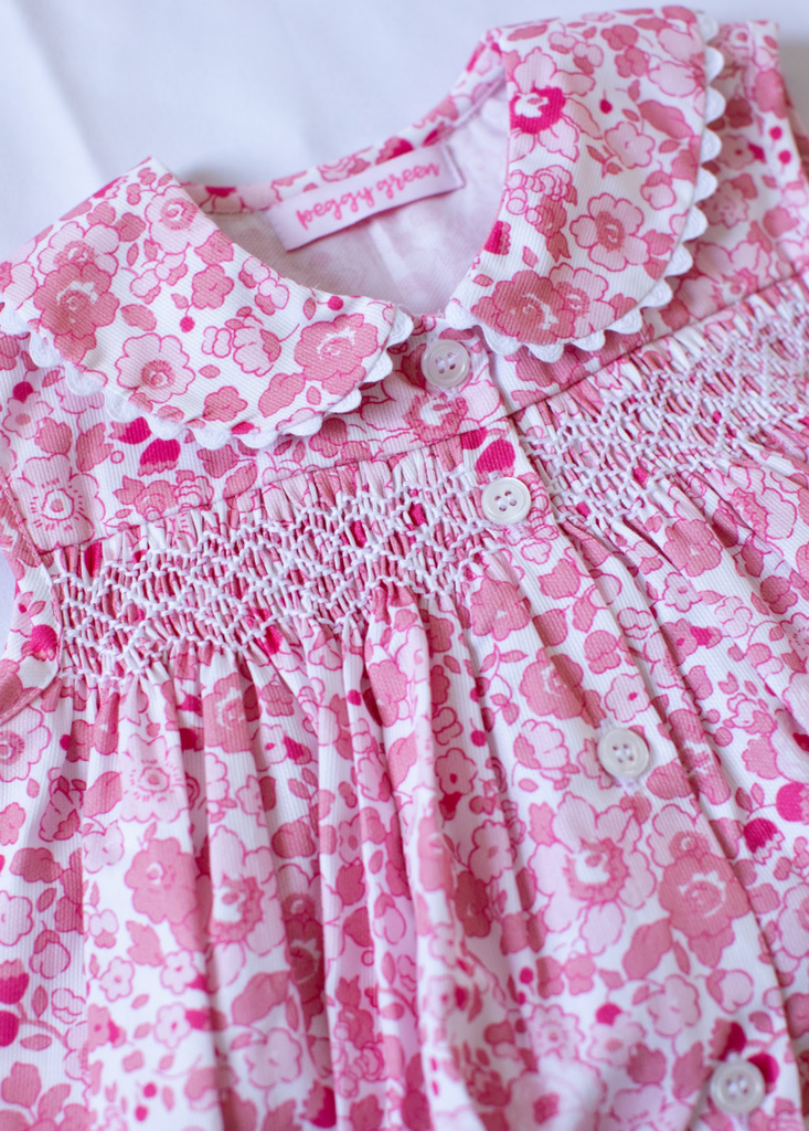 Smocked Short Set- Libba Floral