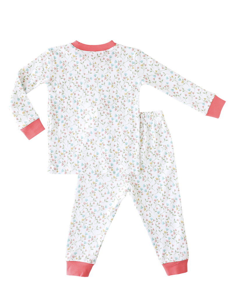 Pineapple Sunshine Pink Arabella 2-Piece Pajama