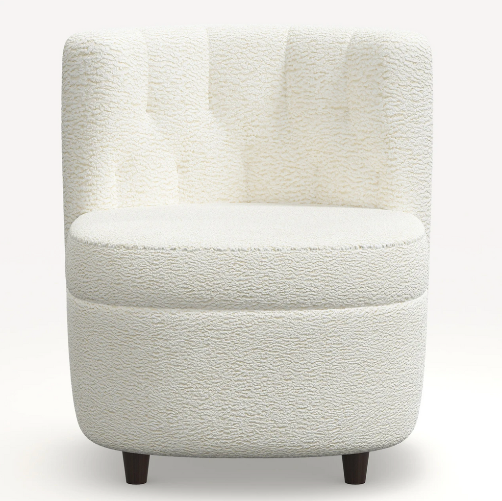 Cloth and Company The Harper Shearling Chair- LIttle Birdies