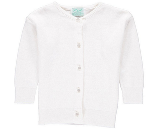 Julius Berger white cotton cardigan