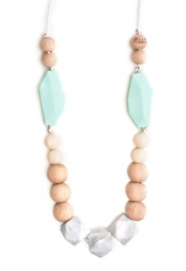 Austin Mint Teething Necklace
