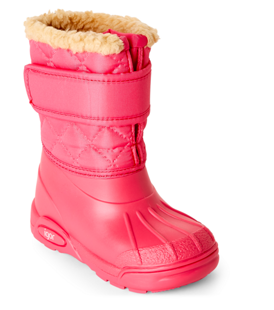Red Snow Boot