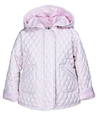 Hooded Barn Jacket- Light Pink