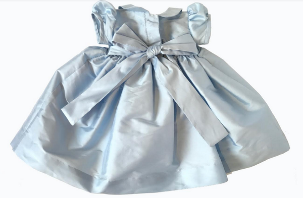 Exclusive! Sky Blue Taffeta Dress