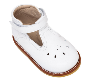 White T-Bar Shoe