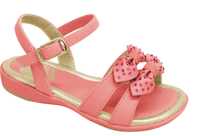 Pink Sandal with Flowers