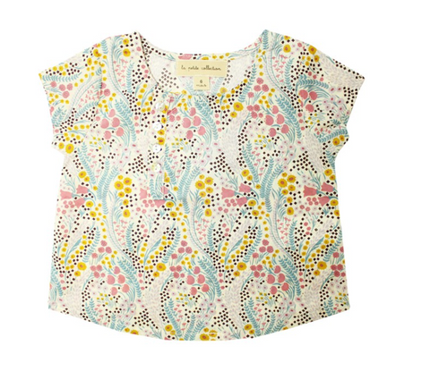 Liberty Bell Flower School Blouse