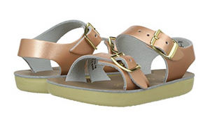 salt water sandal rose gold surfer sun san hoy shoe company