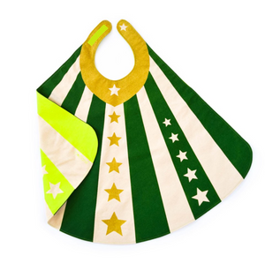 Reversible Green Hero Cape