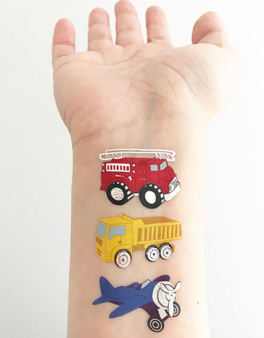 Things That Go - Temporary Tattoos