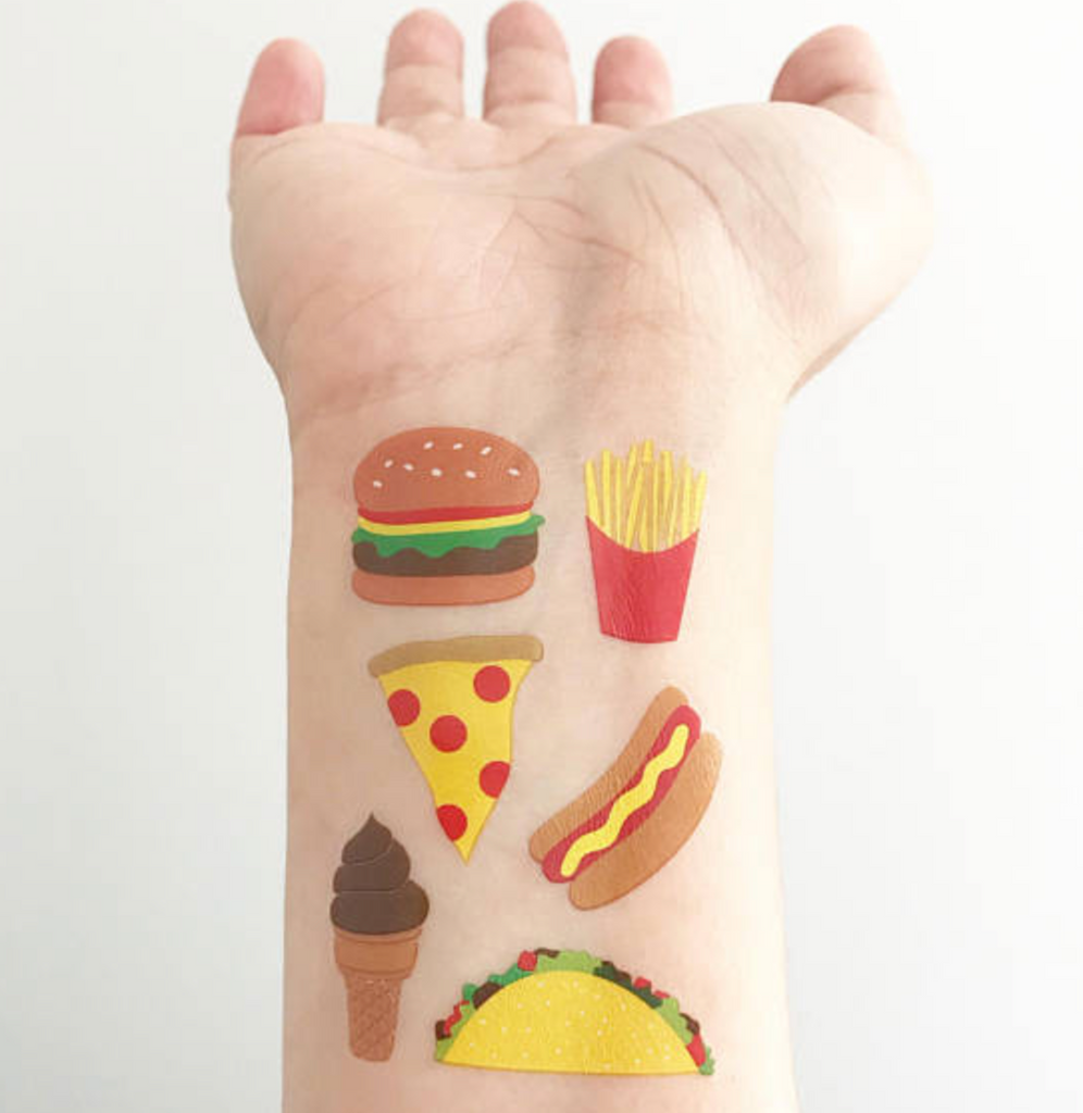 Snack Attack! - Temporary Tattoos