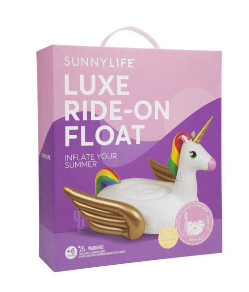 Luxe Ride-On Float Unicorn
