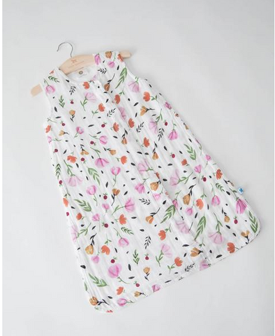 Cotton Muslin Sleep Bag Small-Berry&Bloom