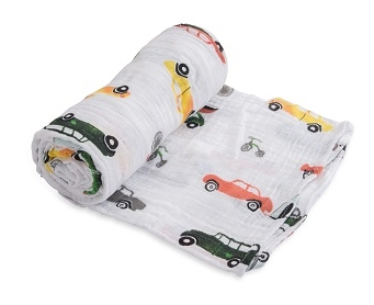 Cotton Swaddle - Traffic Jam