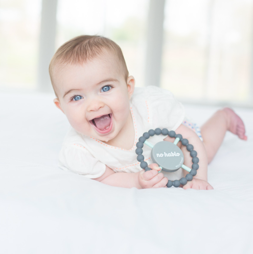 'No Hablo' Teething Ring