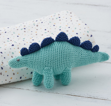 Dino Rattle Doll